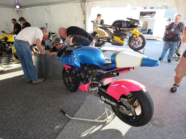 Britten V1000 P002 and P001