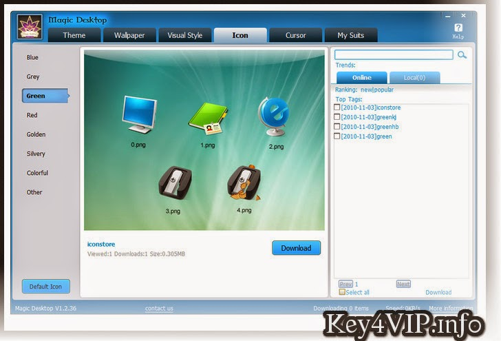 Magic.Desktop.8.4.0.169.Multilangual Full Key,Phần mềm trang trí màn hình Desktop siêu đẹp