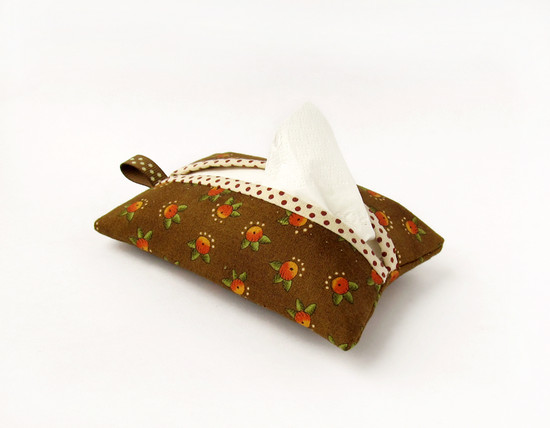 Travel Tissue Case, мастер-класс
