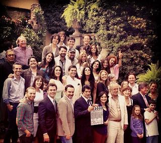 ... de arranque de la telenovela (Foto: Twitter Bárbara de Regil