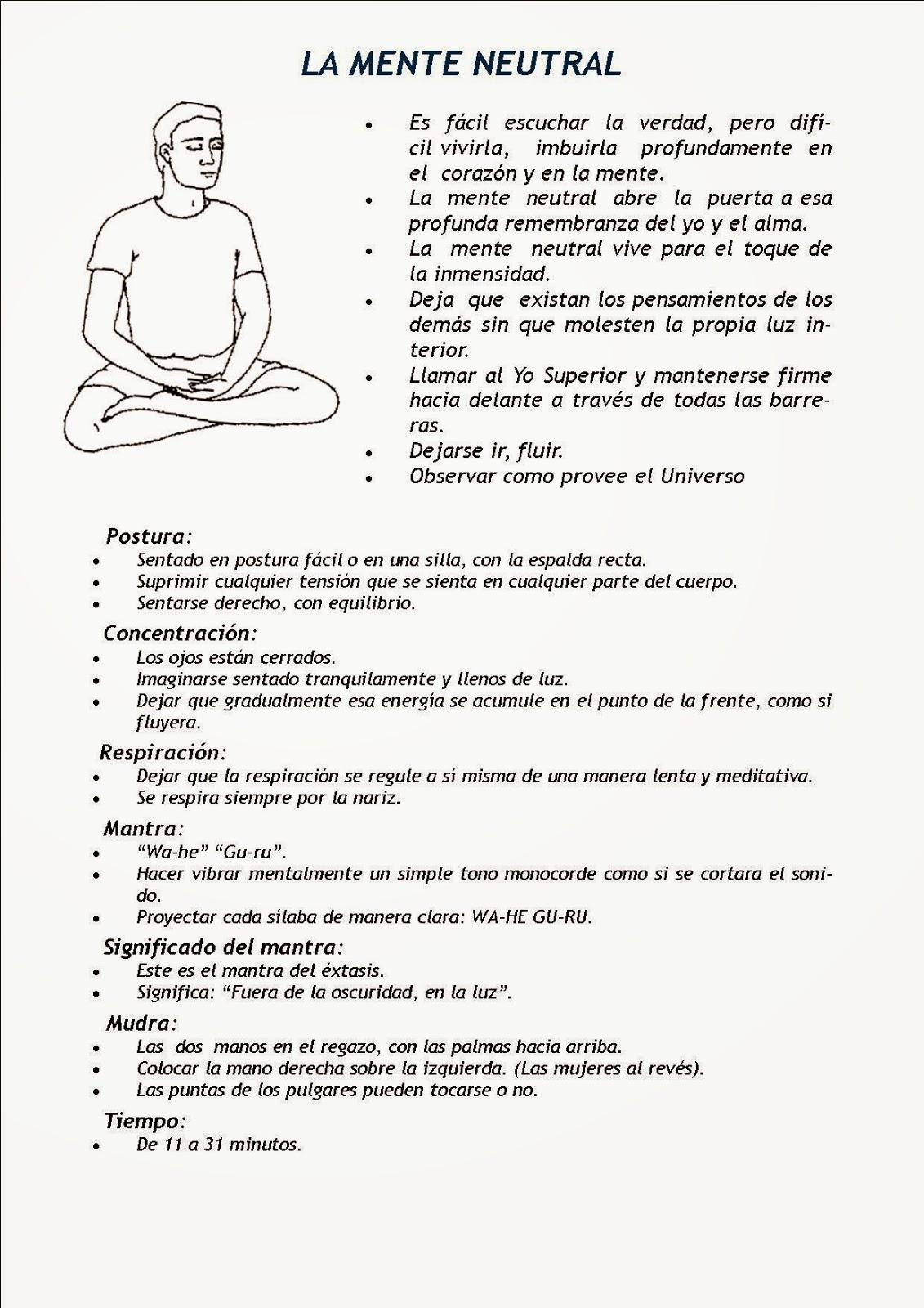 El inca vuelve a casa meditaciones de kundalini yoga - Hacer meditacion en casa ...