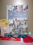 Тильда-конфета в честь Годовасия блога