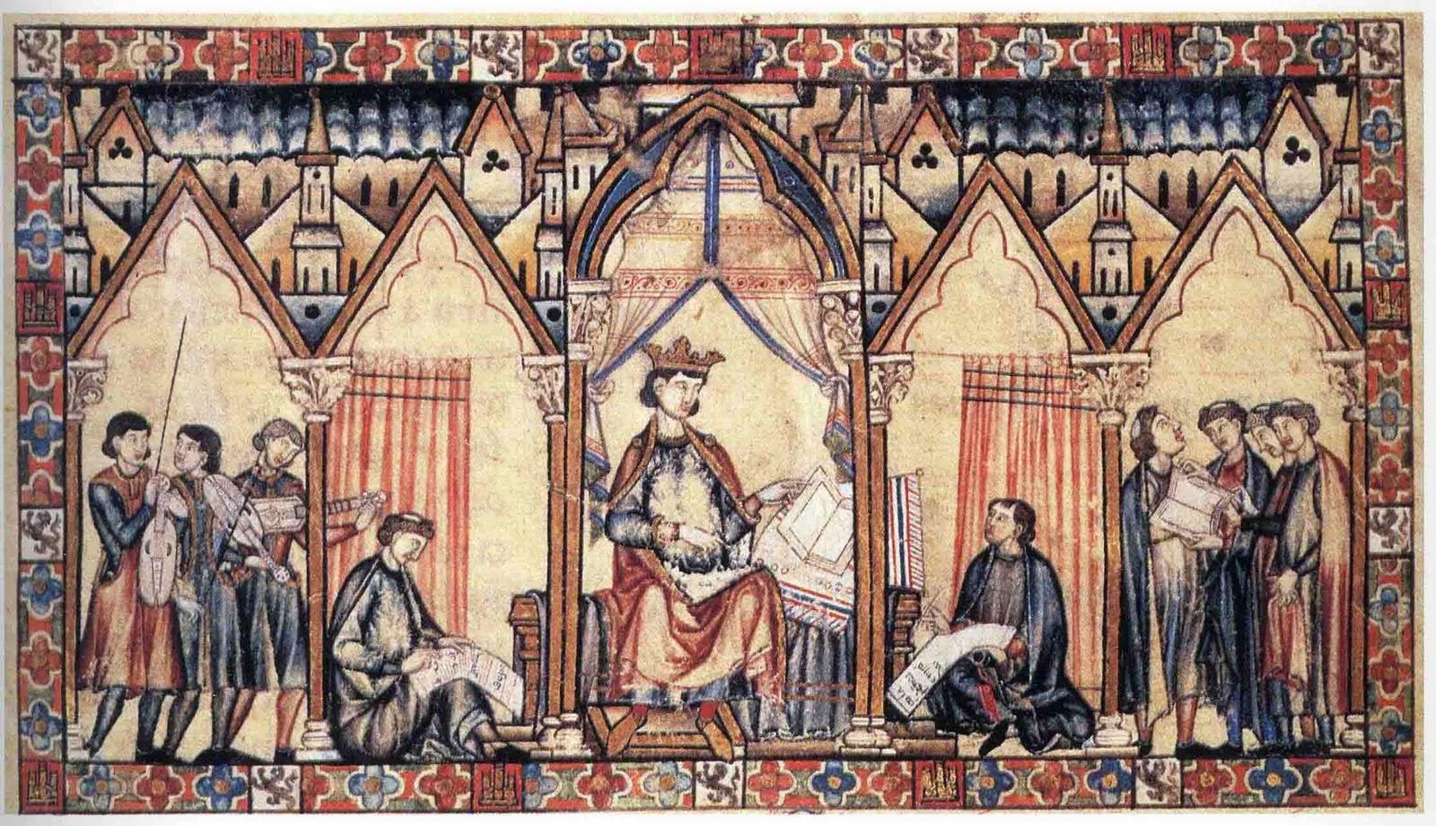 Valdem sica m sica medieval las cantigas del rey sabio - Cita medico puerto de santa maria ...