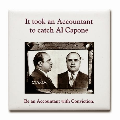 """It took an Accountant to put Al Capone behind bars"""