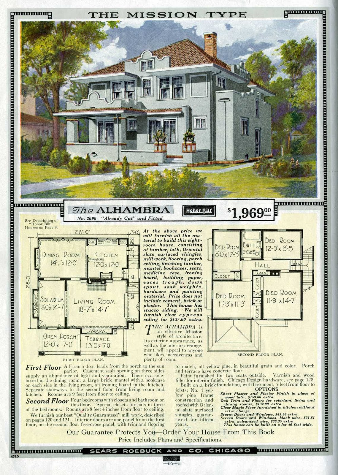 Instant house sears and roebuck modern homes for House kit plans