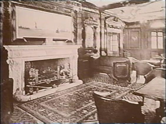 Titanic's First-Class Gentlemen's Smoking Room
