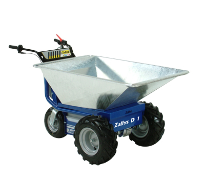 Electric Wheelbarrows Zallys Made In Italy Motorized