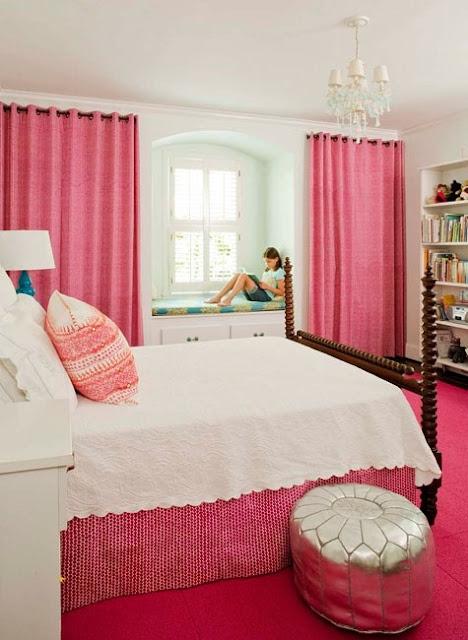 foto dormitorio niña
