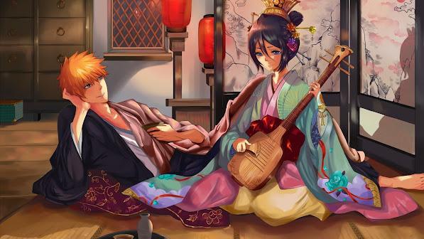 Ichigo and Rukia 4o