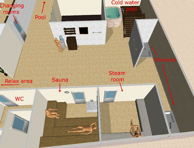 C mo crear y dise ar un spa de lujo mandelrot - Como hacer una sauna ...