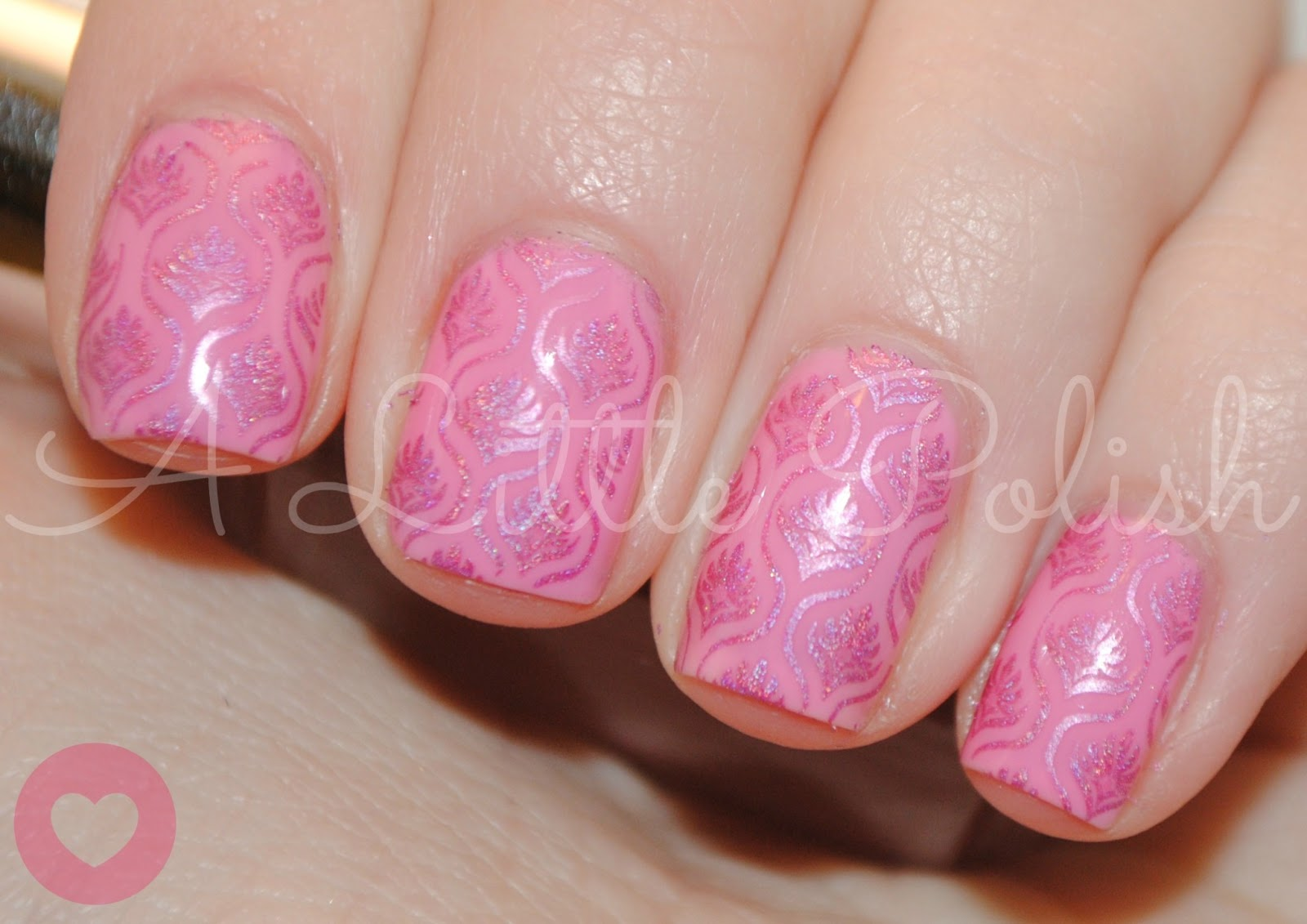 A Little Polish Valentines Day February Nail Art Challenge
