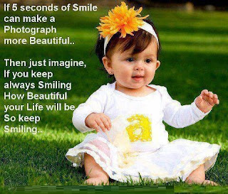 If 5 seconds of smile can make a photograph more beautiful..
