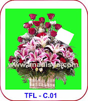 Bunga Lily Casablanca Yang Mengharumkan Suasana Lebaran