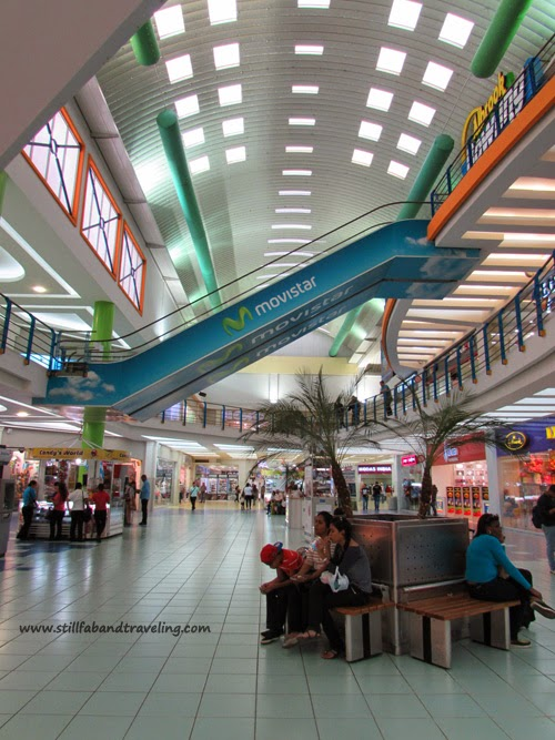 Internal view of Albrook mall in Panama City, Panama