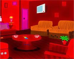 Juegos de Escape Red Locker Room Escape