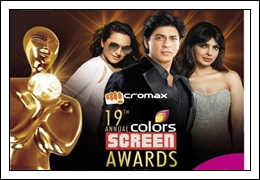 (19th-Jan-13) 19th Annual Colors Screen Awards (Main Event)