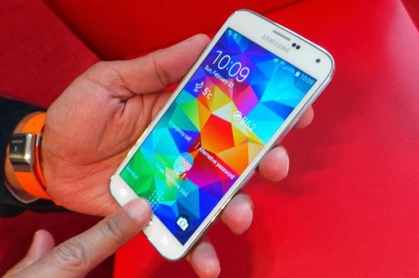 Samsung permitirá a los desarrolladores utilizar el escáner de huellas del S5