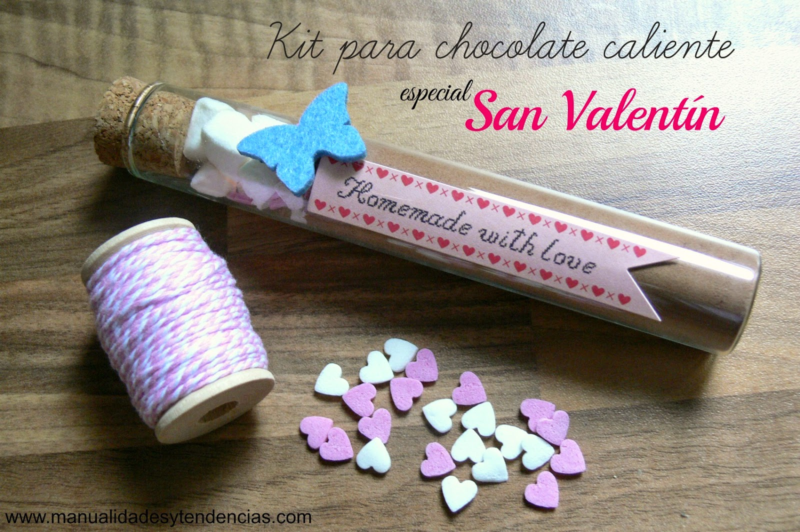 Manualidades Y Tendencias Kit Chocolate Caliente Para San  ~ Regalos Originales San Valentin