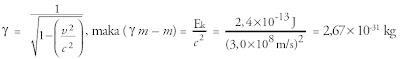 konstanta energi elektron