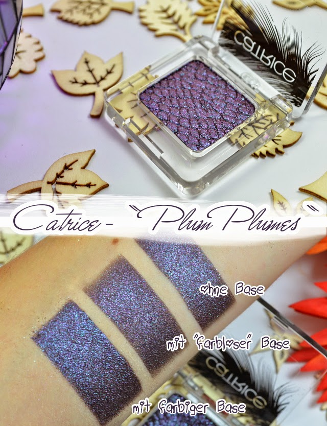 Catrice Feathered Fall LE Luxury Eyesahdow PLUM PLUMES