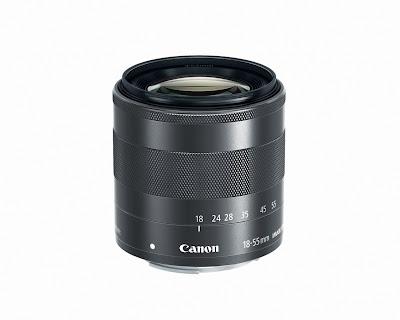 Lensa Kamera Canon EF-M 18-55mm f/3.5-5.6 IS STM