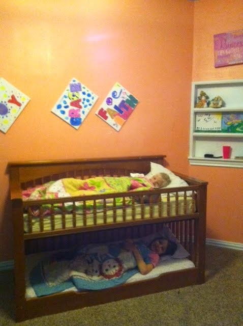 Let's Fill the Van!: Crib to Toddler Bunk Bed