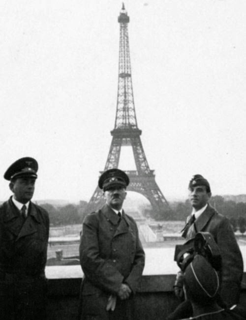 Ultimate Collection Of Rare Historical Photos. A Big Piece Of History (200 Pictures) - Hitler in Paris