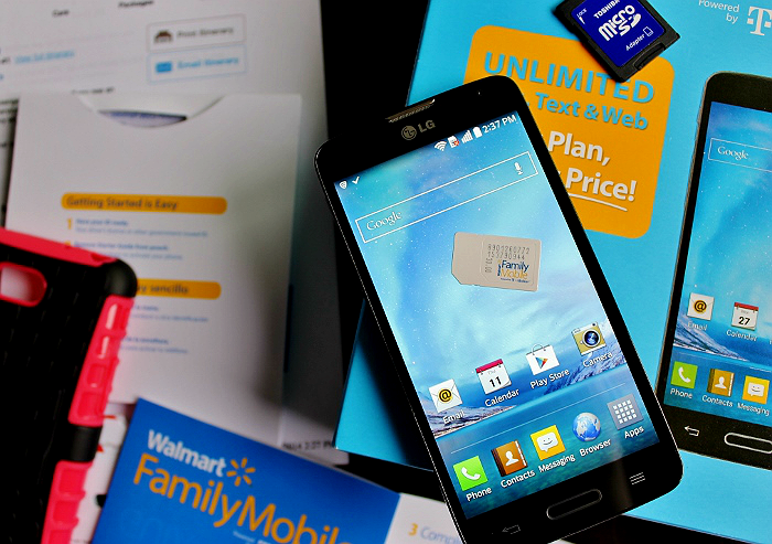The #HolidaysAreCalling with the lowest priced unlimited plans and Rollback Smartphones thanks to Walmart Family Mobile. #ad