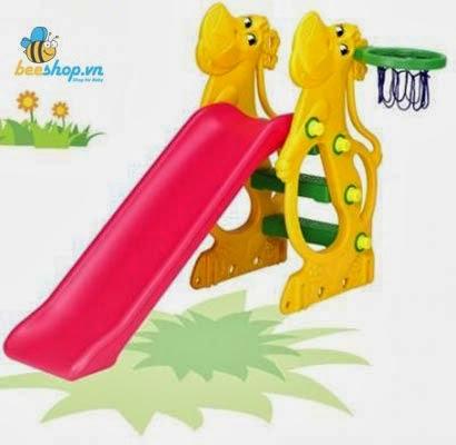 Cầu trượt Hippo hình con Hà Mã SL-12