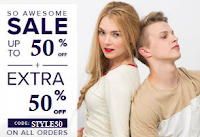 Paytm : American Swan Clothing upto 50% off & 50% or 55% Cashback