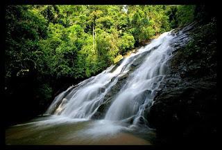 Ton Phrai Waterfall near Phuket