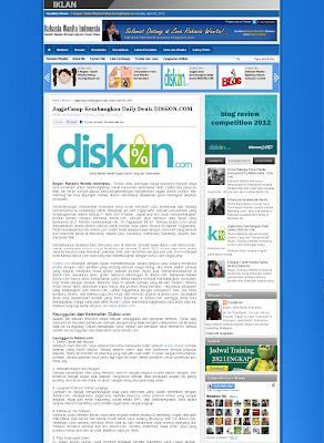 Tampilan Postingan Blog Rahasia Wanita Indonesia Terbaru
