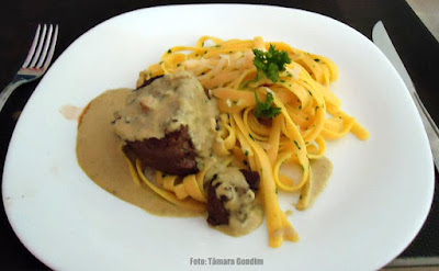 Ymbu Bar e Restaurante: Filet La Sauce