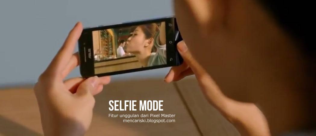 Selfie Mode PixelMaster Asus ZenFone