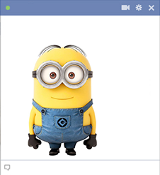 Despicable Me emoticon for Facebook