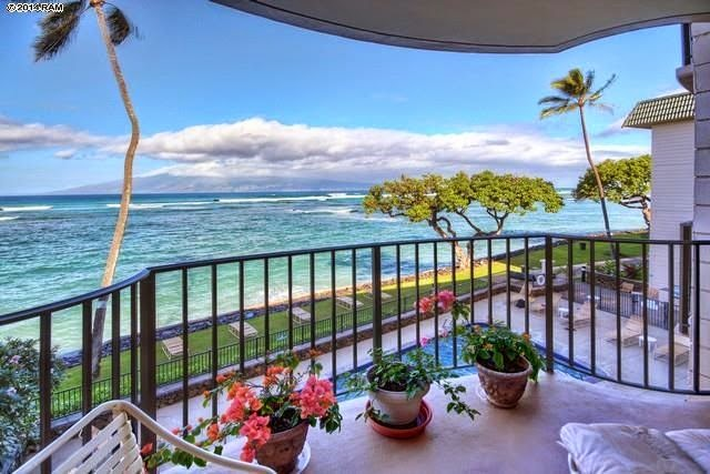 Maui Beachfront Condo For Sale in Lahaina