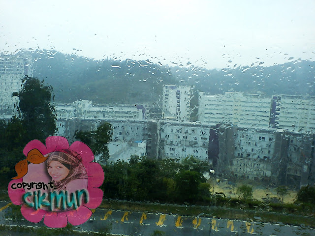cuaca, puncak alam, uitm, hujan, mendung,sejuk,