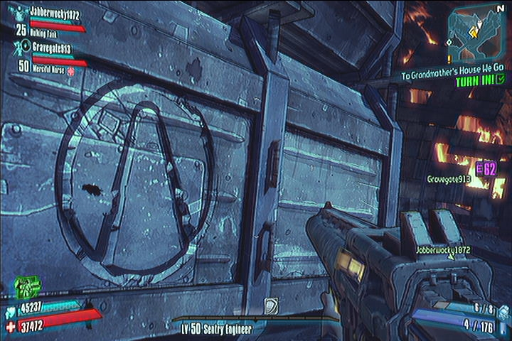 Eridium Blight Vault Symbols Borderlands 2