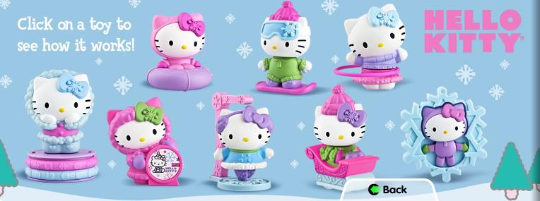 Hello Kitty Happy Meal Toys : A day in zoider s world happy meal us hello kitty
