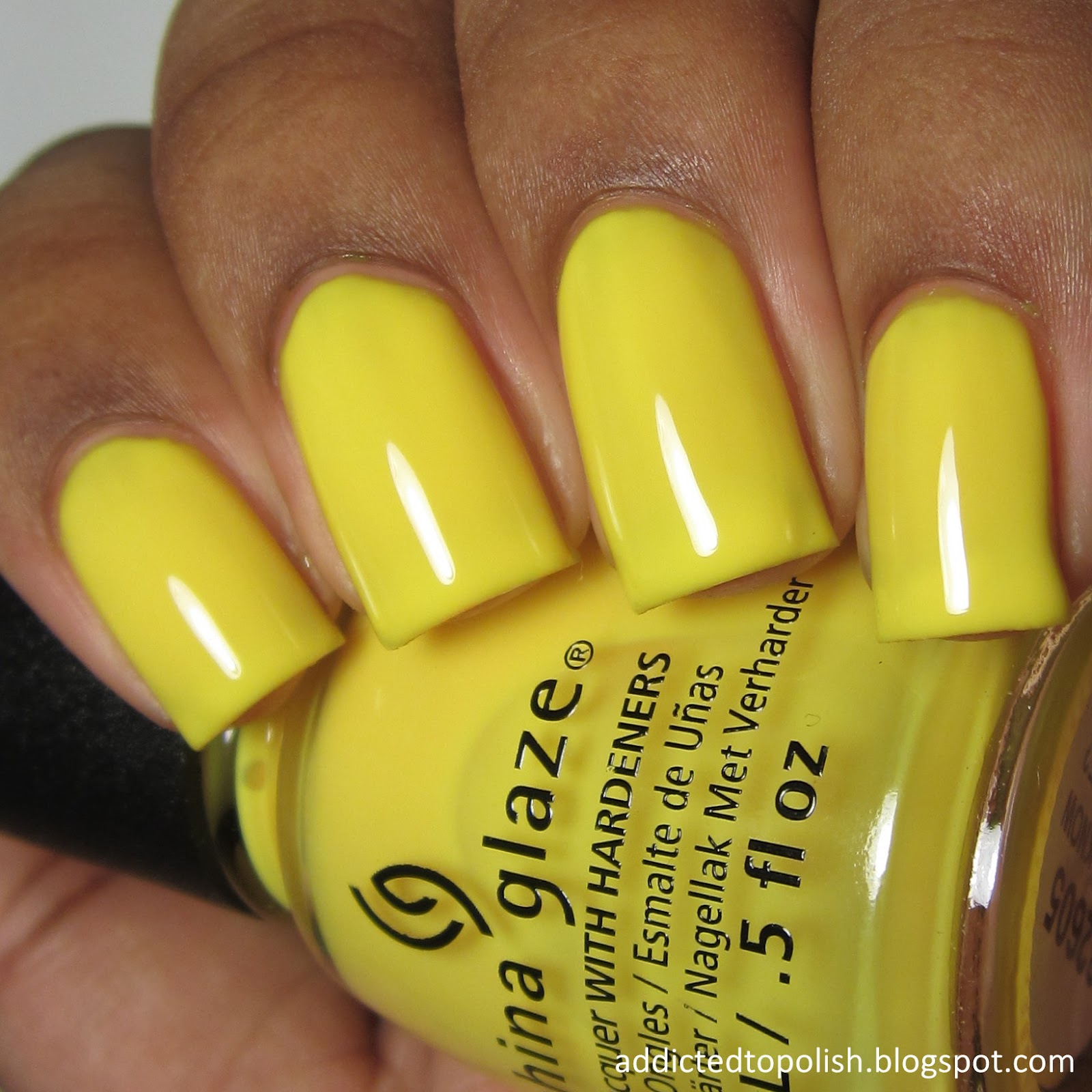 china glaze daisy know my name summer 2015 electric nights