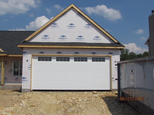 Building stories with wayne homes garage door for 18x8 garage door