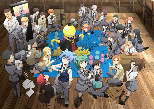 Plakat drugiego sezonu Ansatsu Kyoushitsu