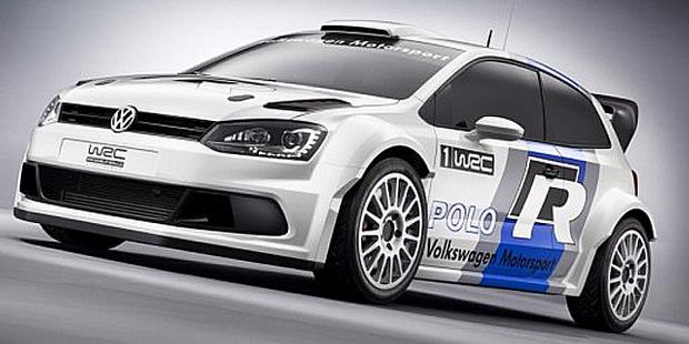 2013 Volkswagen Concept Car for World Rally