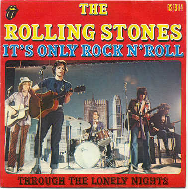 THE ROLLING STONESRolling Stones Its Only Rock And Roll