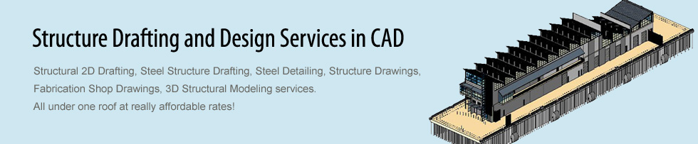 Structure Drafting and Design Services in CAD