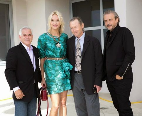 George Leon, Inna Zobova, Fred Sweet, Bruno Aveillan at La Jolla Fashion Film Festival, Filmcastlive