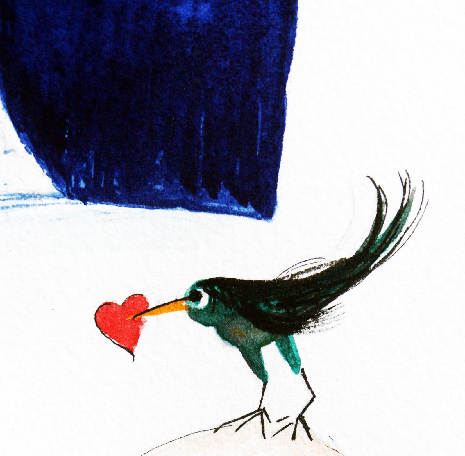 ... oiseau messager