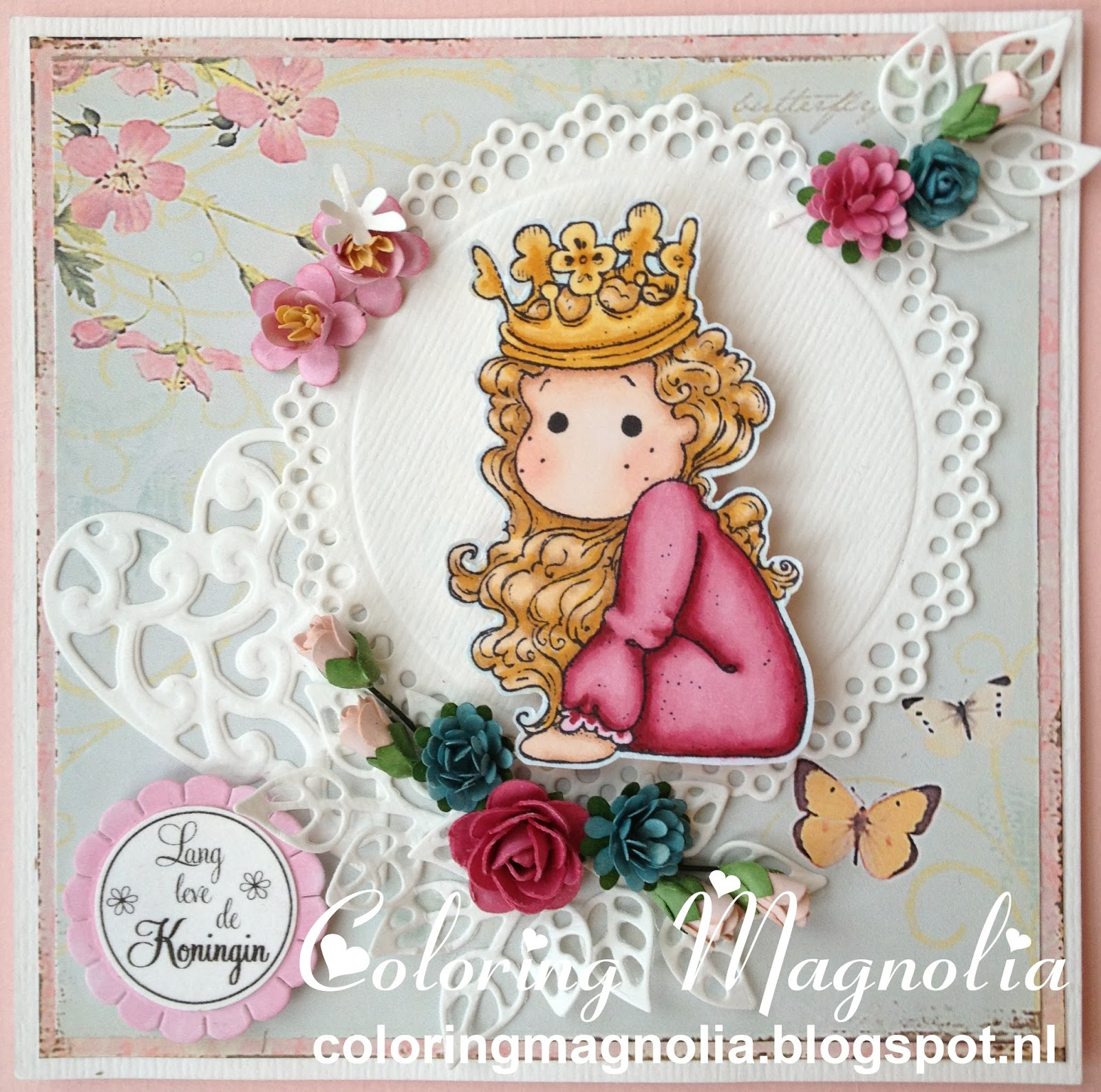 Gift Card Queen - Magnolia Stamp 2013 Once Upon A Time Collection - Little Cute Tilda