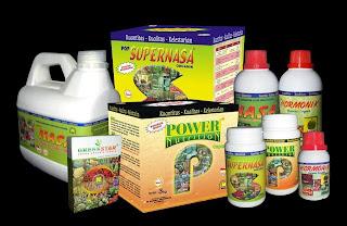 Produk NASA untuk pertanian yaitu berupa Pupuk Organik Cair, Padat dan Serbuk.