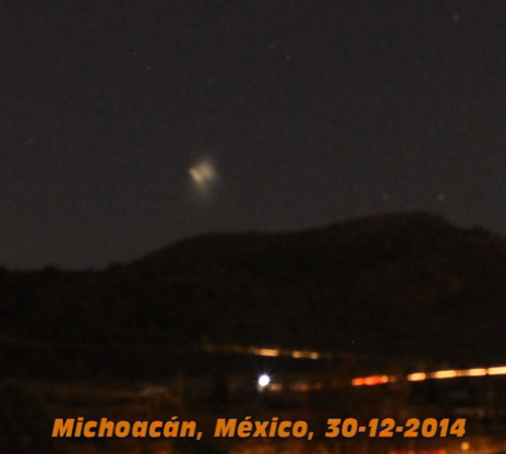 UFO Sightings UFO Leaves Mountain In Mexico, UFO Sightings